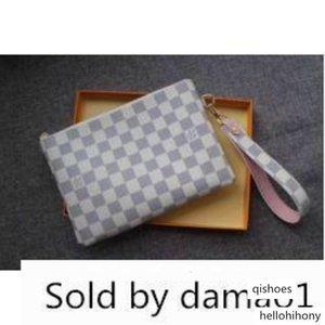 M63447 Frauen Strap Bringen Stadt Tasche Tasche Weiß-Mappen-Gurt-Minitaschen Kupplungen Exoticsnew