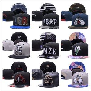 Оптовые крышки Cayler Sons Hip Hop Snapbacks регулируемых Шляпы Мужских шапки Женские шапки Болл Лучшего качество прошитой SNAPBACK крышка мода