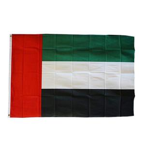 UAE Bandiere 3x5FT 150x90cm stampa del poliestere coperta appeso all'aperto di vendita caldo di bandiera nazionale con ottone Occhiello Shippin