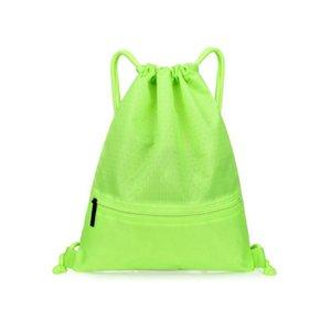 Drawstring Bag Waterproof Sport Gym Cinch Sack Bag Casual Traveling Backpack for Men Women
