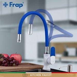 FRAP sink faucets colour deck mounted water mixer tap faucet for kitchen T200423