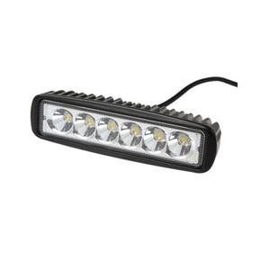 Vetture New Car-Styling camion 18W 6 SMD LED del lavoro della luce bar Inversione lavoro dell'inondazione della luce della lampada per Jeep barca 4WD 12V