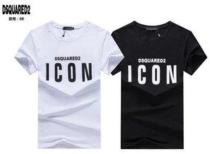 transporte da gota camisa Ícone novo Moda Brands T Men Imprimir Casual Com Ícone Hip Hop de algodão de manga curta T-shirt 3xl O071