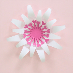 15CM DIY fácil Flores de papel por contexto de la boda decoraciones artesanales de papel pared del cuarto de Art Deco de bienvenida al bebé de cumpleaños floral de Deco