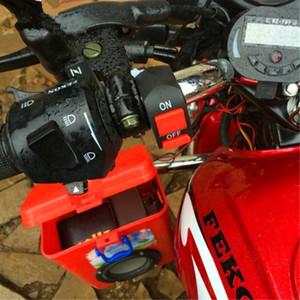 Üst Kalite 12V Kol Bar öldür Durdurma Anahtarı Evrensel Motosiklet Bisiklet Gidon ON-OFF Kill Switch Düğme Bullet Bağlayıcı