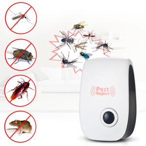 Elétrica Ultrasonic Mosquito Assassino Armadilha Lâmpada Bug Apanhador Voador Repelente de Pragas Repeller Zapper Repelente de Mosquito