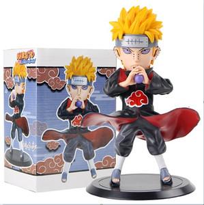 Cool 18 sm Anime Naruto Shippuden Pain Pein Naruto Figurine Pvc Action Figure Collectiable Model Toys Gift With Box