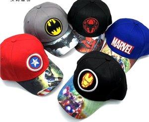 New 1pcs cartoon avengers Batman superman spider-man Fashion Sun Hat Casual Cosplay Baseball Cap children party gift 50-52cm