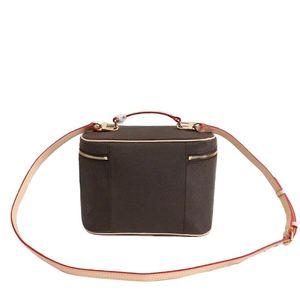 new Designer Makeup Bag Women Handbag Old Flower Make Up Bag Designer Pouch Fashion Designer Cosmetic Bag