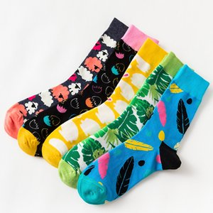 2019 New Cotton Easter Rabbit Socks Turtle Leaf Men Women Casual Harajuku Designer Socks Easter Eggs Christmas Print Socks