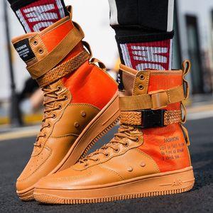 Designer Hip Hop joker Calzature Scarpe uomo casual Uomini Tenis Sapato Masculino Heren Schoenen High Top Sneakers carrello Man