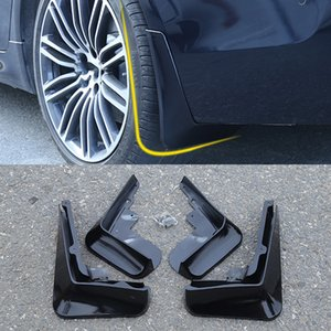 Car Front Rear Car Mud Flap Mudflaps Splash Guards Mudguards Fender Flares Exterior Parts for BMW 5 Series G30 2017-2020