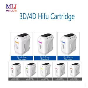 ev ve salon yüz germe dönüştürücü kartuş için HIFU ultrason makinesi 3D 4D kafa kartuşları