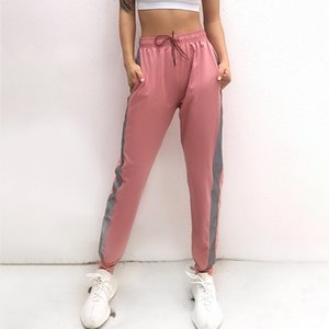 Women's Fitness Running Wide Leg Loose Harem Sports Yoga Pants Mesh Trousers Jogger Slim Sportwear Breathable