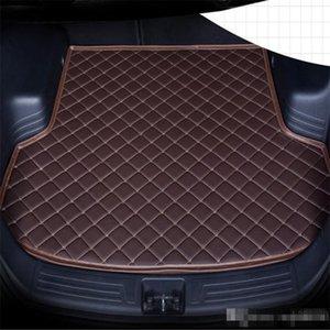 Car anti-skid trunk mat, waterproof leather carpet flat mat, flat mat suitable for BUICK GL8 Seven seats 2013-2015year