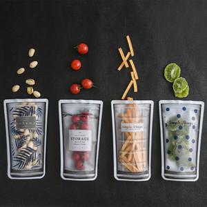 Gıda Tazelik Koruma Çantası Su Bardağı Tipi Aperatif Sıralama Çanta Seyahat Su Geçirmez Mühür Depolama Çuval 3 6fs L1