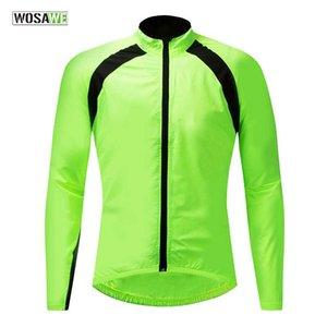 Coupe-vent Cycle Jersey VTT Chemise eau anti pluie Manteau Impermeable vent Manteau Windcoat Veste vélo rapide Route sèche Jersey Bike