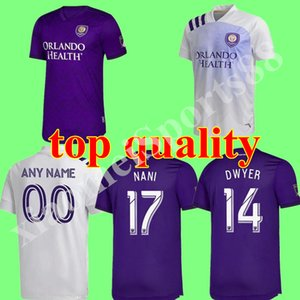 Migliore qualità 2020 mls club Orlando City Home Away Soccer Jerseys 19 20 # 10 Colman J. Mendez Camicia da calcio Dwyer Nani Football Uniform