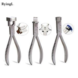 acier inoxydable Pinces Bijoux en nylon Ring Pliers réparation Bracelet Formant outils de réparation ressort de flexion Lunettes Y200321