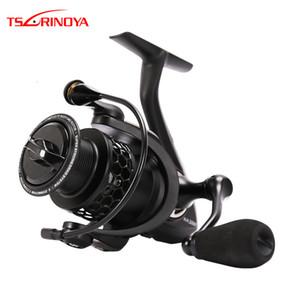 TSURINOYA NA 2000 3000 3000 4000 5000 9BB 5.2:1 Grae Ratio Saltwater Fishing Reels Lightweight Spinning Fishing Reel T191015