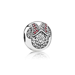 Authentic 925 Sterling Silver Positioning Colorato Perline Adatto a Charms braccialetto Pandora per collana a catena di serpente europeo collana moda gioielli fai da te