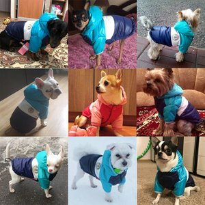 Autumn Winter Pet Clothes For Dogs Waterproof Hooded Dog Coat Jacket Warm Puppy Pet Clothing Chihuahua French Bulldog Clothes