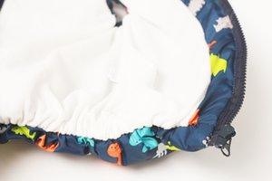 BOTEZAI Enfants Vêtements Bébés garçons Gilet 2018 Automne Vêtements pour enfants Gilet sans manches à capuche pour enfants dinosaure Gilets coton