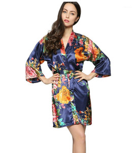 Womens Vintage Florol Print Sleep Dress Summer Designer Bandage Sleepwear Robes Females Sexy Fashion V Neck Underwear