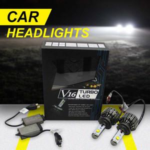 Car Led H7 Headlight Bulbs 40W 4800LM Auto Headlamp White 6000K Fog Driving Head Light Lamp Conversion Kit
