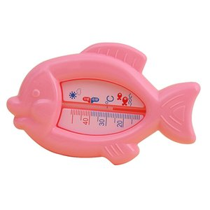 Kidlove Cartoon Fish Shape Wet Dry Water Thermometer for Baby Bathing