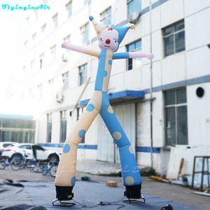 5m Himmel-Tänzer-lustiger Tanzen-Clown Air Dancer Advertising Inflatable Sky Clown mit Gebläsen