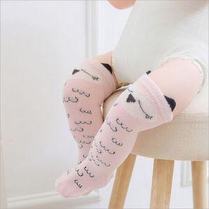 Toddler Baby Girls Shorts Socks Cute Animals Socks Soft Cotton Knee High Girls Sock Floral Cute Children Socks Shorts