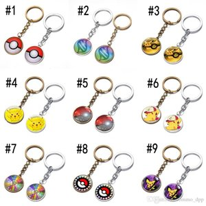 New Alloy Key chain Cool Creative keychains 9 Styles Anime peripheral RPG mobile game Key Chain Car Keychain