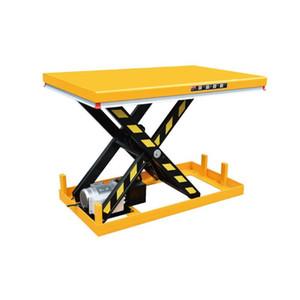 수압 승강기 플랫폼은 상승 테이블 전기 정지되는 테이블 HW1001 를 가위로 자릅니다
