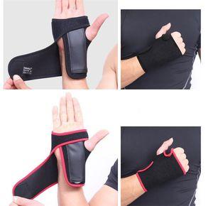 Apoio para o Punho Sports Safety Exercise Ginásio Cuff Pulso Envoltório de Levantamento de Peso Pulseira de Proteção Cinta Ajustável