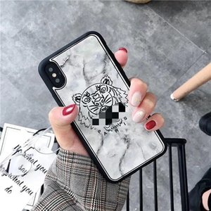 Popular Tiger Head Designer Phone Case Luxury IPhone Cover Brand Cell Phone Cases For 6 6S Plus 7 8 7P 8P X XS MAX XR 11 Pro 20062803CE