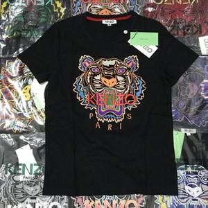 20ss Herren Designer-T-Shirts Marke T-Shirts Männer Frauen atmungsaktive Shorts kurzen Hülsen-Tiger Hemd Luxuxstickerei-Tiger-T-Shirts TT 20032404T