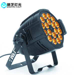 MFL P1815 Guangzhou professionale Disco Dj Dmx 18pcs10w 5in1 luce par Per Dj Attrezzatura per illuminazione Effetto