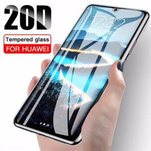20D Защитное стекло для Xiaomi редми Примечание 8 8А 8Т 9 9S K30 Pocophone X2 F1 Pro Max Закаленное стекло экрана Полное покрытие стекла