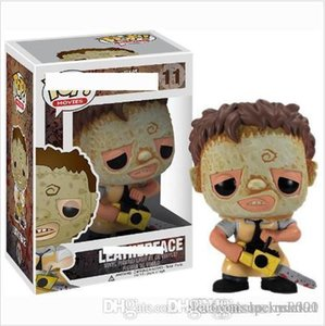 China Lucky Market Funko Pop leather face Chainsaw killers Vinyl Action Figure With Box Gift for kids toy