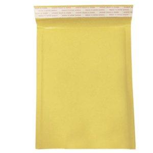 10 Pack Yellow postale Emballage Moistureproof Self Seal Enveloppes sac de papier anti-pression Bubble rembourré