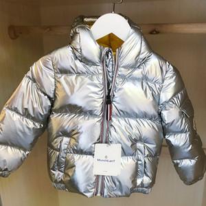 2020 capa de la chaqueta de invierno para niñas niños Parka Ropa de bebé niños niñas de Down Parka 1-7y del Snowsuit Manteau Hiver Fille