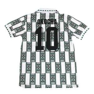 ks 1994 Retro Edition Nigeria Jersey 2020 Starboy Soccer Jerseys Okechukwu Dayo Ojo Osas Okoro Classic Short Sleeved Nigeria Football Unifor