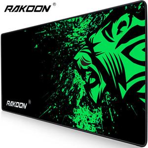 Equipo de oficina Rakoon extra grande Gaming Mouse Pad Gran Ordenador Mousepad antideslizante de caucho natural con bloqueo Edge juego alfombrillas de ratones