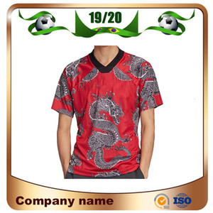 2020 Manchester Nouvel an chinois China Dragon Special Edition rouge Football Maillots 19/20 Rashford Pogba LINGARD MATA Maguire football un T-shirt