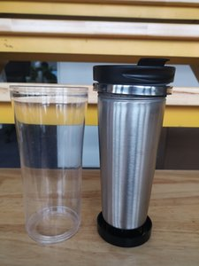 Paslanmaz Çelik DIY Tumbler O Kendi Yalıtımlı Kahve Seyahat Mug Sızdırmazlık Çay Bardağı Dış Mekan Kupalar olun