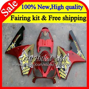 Body For Triumph Daytona 675 02 03 04 05 06 07 08 7HT12 Daytona 675 2002 2003 2004 2005 2006 2007 2008 Rojo dorado 02-08 Carrocería carenado