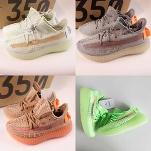 Trouver 350S pour bébés Kanye West Chaussures bébé garçon fille petits enfants enfants 350s Sneaker Lundmark Synth statique Noir réfléchissant Clay GID Blanc