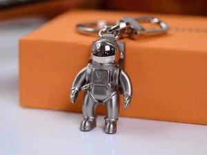 -chave melhores chaves do carro do presente do desenhista astronauta cadeia de liga leve de alta qualidade da cadeia de homens mulheres moda Acessórios Marca Key fivela com caixa de presente
