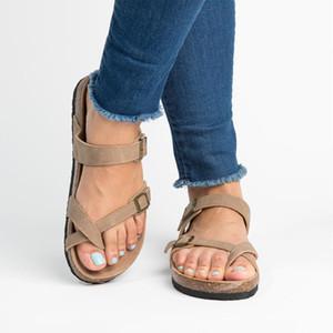 Горячая распродажа-2019 летние пляжные сандалии женские сандалии на плоской подошве слайды Chaussures Femme Clog Plus повседневная обувь вьетнамки женщина
